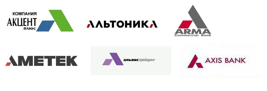 Похожие логотипы 3