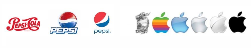 эволюция лого