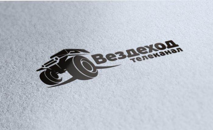 Логотип вездеход