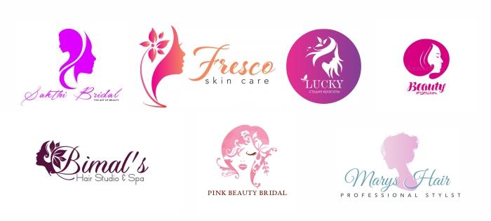 логотипы салона красоты